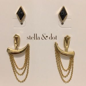 Stella&dot earrings.